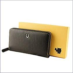 【金運財布】風水学に基づいてラッキーシンボルを取り入れた長財布